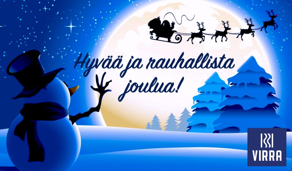 Virra hyvää joulua